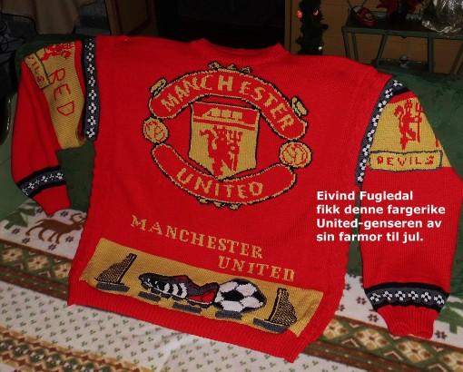 mønster til manchester united genser